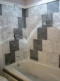 bathroom installation simple and secure with bathtub surround