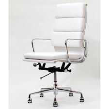 most visited inspirations featured in elegant white leather desk chair