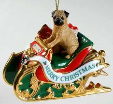 danbury mint annual pug ornament at replacements ltd