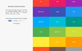 material design color palettes 9 useful tools webpagefx