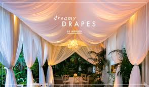 How To Drape Ceiling For Wedding Wedding Drapes How To Add Romance To Your Event Inside Weddings