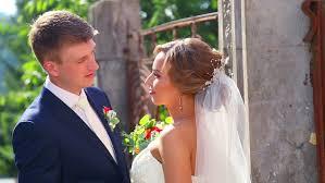 groom wedding and groom and hug at the wedding stock footage
