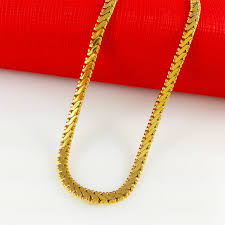 aliexpress gold necklace images Fojie gold chain jpg