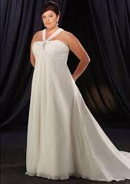 plus size halter wedding gown 399 99