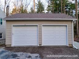 Detached 2 Car Garage Garages Baystate Outdoor Personia