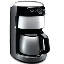 Cuisinart 12 Cup Stainless Steel Thermal Carafe Programmable Coffee