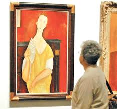 modigliani woman with a fan spiderman burglar on trial over 100m paris art haul world the