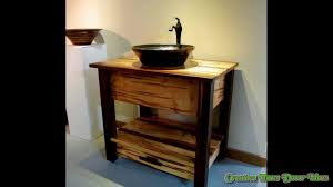 rustic bathroom faucets ideas youtube