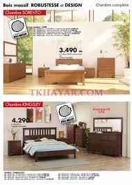 catalogue chambre a coucher en bois catalogue kitea promotion chambre coucher et rangement 2016 avec