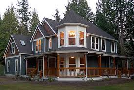 homes with wrap around porches plan w69044am victorian with wraparound porch e architectural