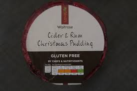 what gluten free christmas products are waitrose selling this year
