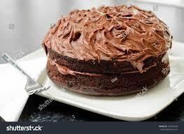 home made whole chocolate cake chocolate stock photo 101255428
