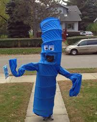 how to make a waving inflatable arm flailing tube man costume for