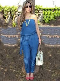 strapless denim jumpsuit s fashion strapless denim jumpsuit with belt novashe com