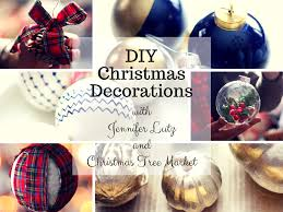how to make your own diy christmas ornaments christmas tree