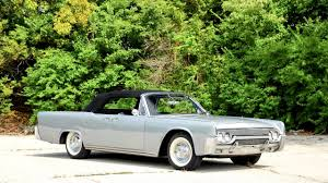 lincoln continental convertible 74 1961 youtube