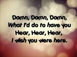 avril lavigne wish you were here lyrics youtube