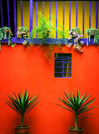the beautiful home design and color blocking aesthetics of mexico