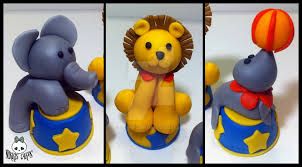 circus cake toppers fondant circus animal cake toppers by corpse on deviantart