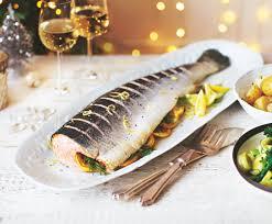 asda whole salmon asda christmas party food pinterest