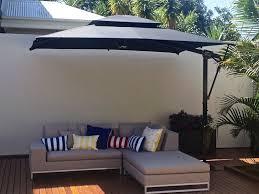Rectangular Patio Umbrella With Solar Lights by The Best Rectangular Patio Umbrella U2014 All Home Design Ideas