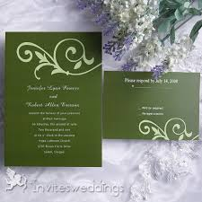 green wedding invitations simple cool grass green wedding invitation iwi084 wedding