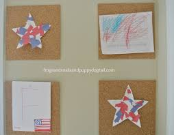 patriotic torn paper stars easy and fun craft for the kids fspdt