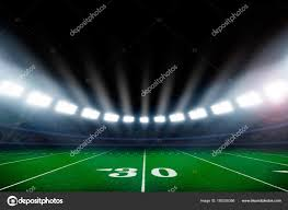 how tall are football stadium lights american football field illuminated stadium lights stock photo