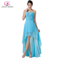 aliexpress com buy sky blue evening dress grace karin one