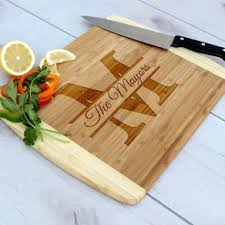 engraved platter wedding gift monogrammed cutting boards custommade