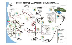 Boston Marathon Route Map by Bagan Temple Marathon Myanmar Overview Marathon Tours And Travel