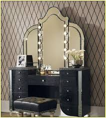 lighted makeup vanity sets lighted makeup mirror fresh lighted vanity table wall decoration