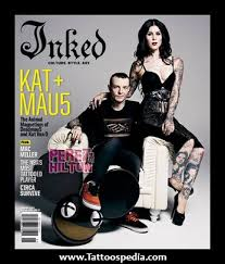 deadmau5 and kat von d matching tattoos