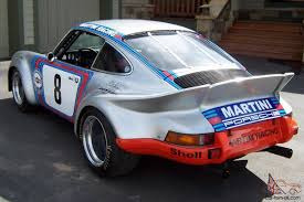 martini racing porsche 911 vintage road racing car martini racing tribute restored