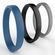mens silicone wedding band silicone wedding ring for by comfortable fit