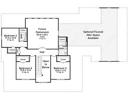 second floor plans the hudson park 1600 4 bedrooms and 3 baths the house designers