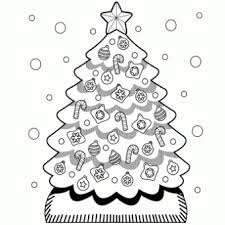 christmas tree coloring free christmas recipes coloring
