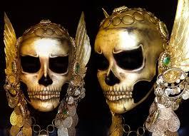 Skeleton Makeup Halloween by Halloween Gold Skull Make Up Transformation Youtube