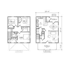 apartments american foursquare floor plans sears homes and plans
