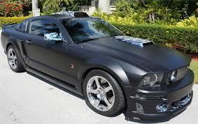 2008 Black Mustang Gt 2008 Ford Mustang Roush Stage 3 Custom 2 Door Hardtop 170403