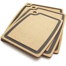 sur la table cutting board epicurean gourmet series groove cutting board natural sur la table