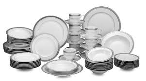 mikasa platinum crown 58 set dinnerware sets