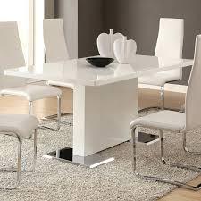 coaster table and chairs modern white table and chairs hangrofficial com