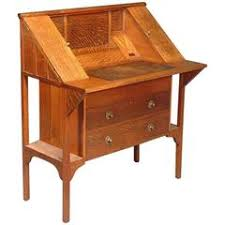 Arts And Crafts Writing Desk Arts And Crafts Desk From France Circa 1910 At 1stdibs