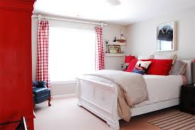 Blue And White Bedrooms 20 Bold Bedrooms In Blue Red And White Colors Home Design Lover