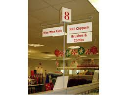 aisle markers aisle marker handy store fixtures