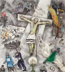 white crucifixion the art institute of chicago