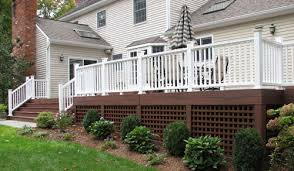 under deck lattice ideas easy kimberly porch and garden the