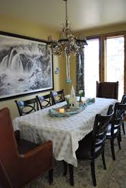 Shabby Chic Dining Room Table by Dining Room Marvelous Rustic Dining Room Decoration Using Dark