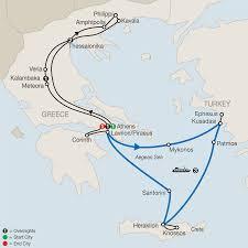 Turkey Greece Map by Greece U0026 Turkey Religious Tours Globus Faith Tours